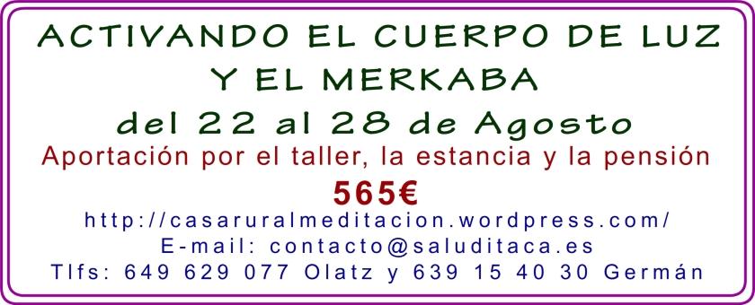 2014 CUERPO DE LUZ Y MERKABA PRECIOS