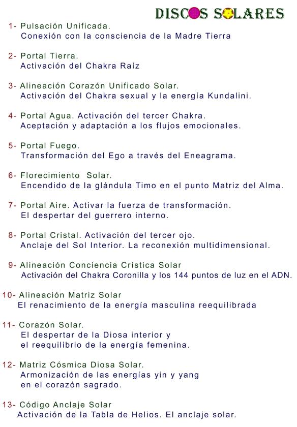 2014 DISCOS SOLARES 6-11 AGOSTO 2