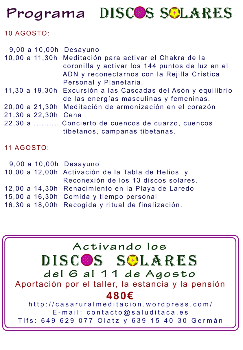 2014 DISCOS SOLARES 6-11 AGOSTO 5