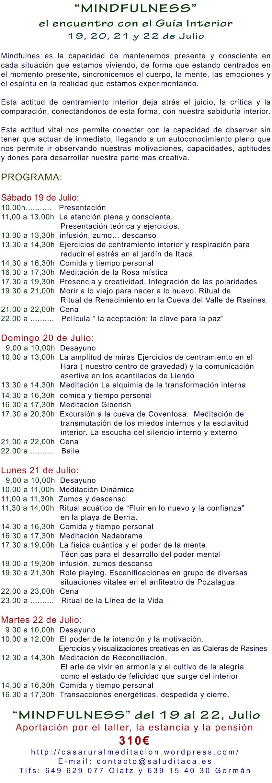 2014 MINDFULNESS 19-22 JULIO COMPLETO
