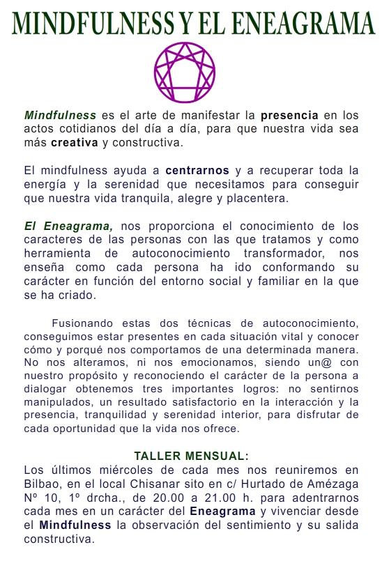 MINFULNEES Y EL ENEAGRAMA 1