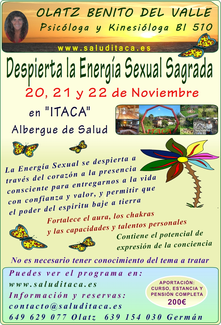 2015 DESPIERTA LA ENERGIA SEXUAL SAGRADA cartel