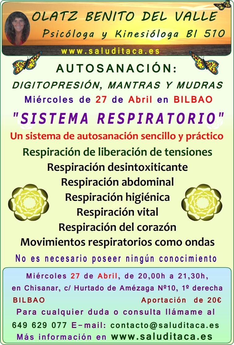 2016 Autosanacion cartel SISTEMA RESPIRATORIO