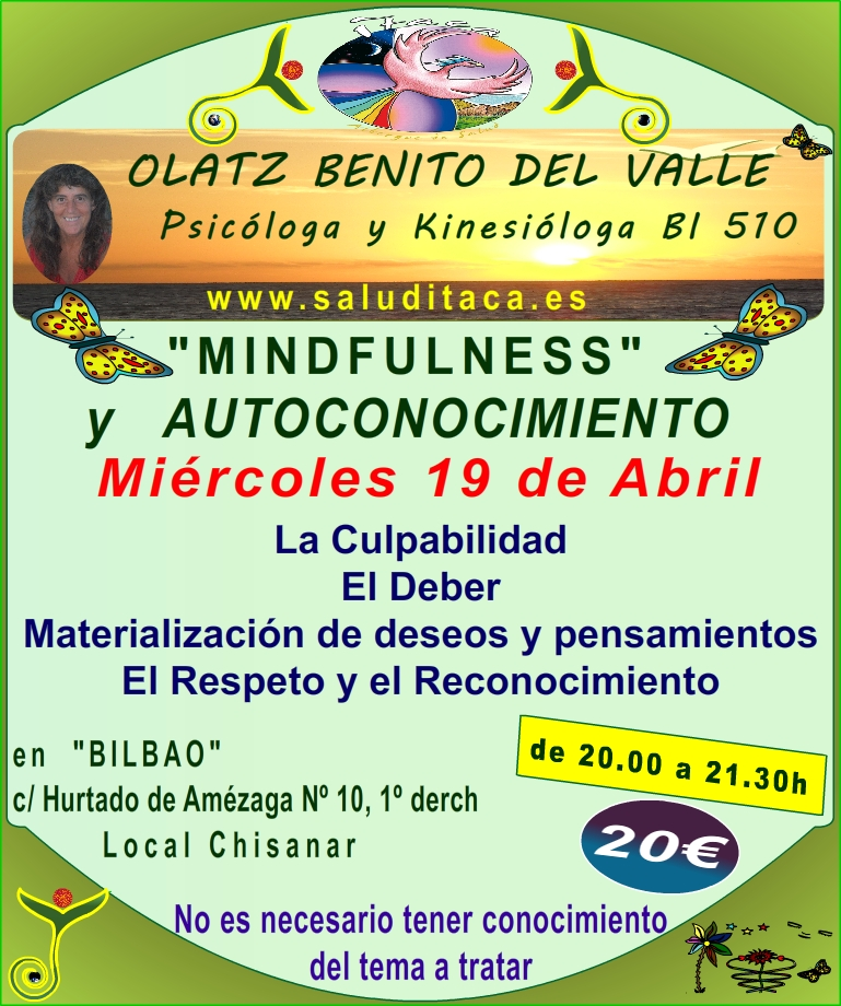 MINDFULNESS Y AUTOCONOCIMIENTO 7º TALLER