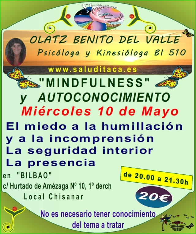 MINDFULNESS Y AUTOCONOCIMIENTO 8º TALLER